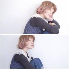 モテ髪 ハイトーン 外国人風 ナチュラル ヘアスタイルや髪型の写真・画像