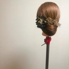 エレガント 和装ヘア 結婚式 ブライダル ヘアスタイルや髪型の写真・画像