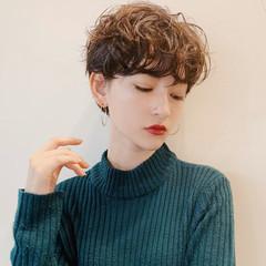 ショートヘア モード ベリーショート ショート ヘアスタイルや髪型の写真・画像