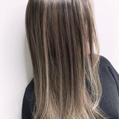 グラデーションカラー 外国人風カラー エアータッチ バレイヤージュ ヘアスタイルや髪型の写真・画像