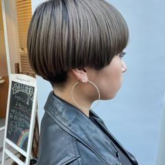 ショートマッシュ ショート マッシュヘア モード ヘアスタイルや髪型の写真・画像