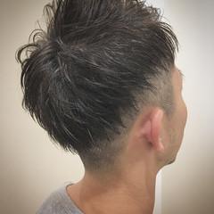 フェードカット ストリート ツーブロック スキンフェード ヘアスタイルや髪型の写真・画像