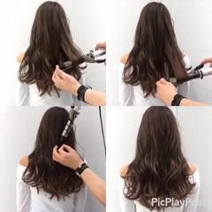 ウェットヘア ロング 外国人風 ストリート ヘアスタイルや髪型の写真・画像