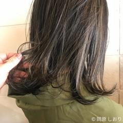ナチュラル ハイライト ミルクティーベージュ ヘアアレンジ ヘアスタイルや髪型の写真・画像