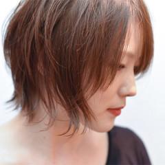 外国人風 大人かわいい ショート ハイライト ヘアスタイルや髪型の写真・画像