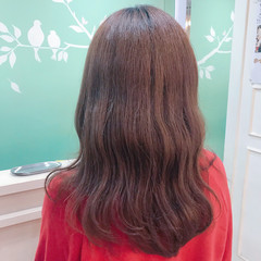 デート ウェーブ ロング 簡単ヘアアレンジ ヘアスタイルや髪型の写真・画像