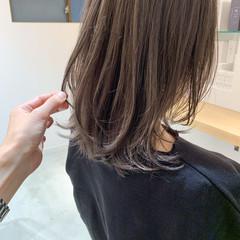 アンニュイほつれヘア ミディアム こなれ感 ウルフカット ヘアスタイルや髪型の写真・画像