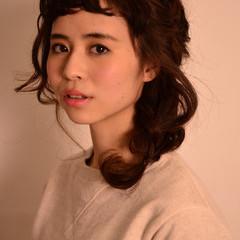 ミディアム 大人かわいい ショート ヘアアレンジ ヘアスタイルや髪型の写真・画像