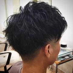 ショート 刈り上げ アップバング メンズ ヘアスタイルや髪型の写真・画像