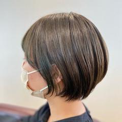 ショートヘア ショート ショートボブ インナーカラー ヘアスタイルや髪型の写真・画像