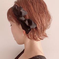 ヘアアレンジ ミニボブ ショートボブ ボブアレンジ ヘアスタイルや髪型の写真・画像