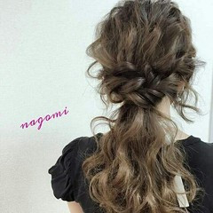 大人かわいい ルーズ ヘアアレンジ ロング ヘアスタイルや髪型の写真・画像