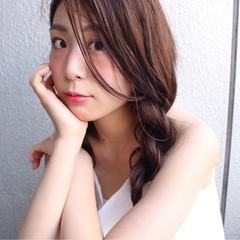 色気 ロング ナチュラル ショート ヘアスタイルや髪型の写真・画像