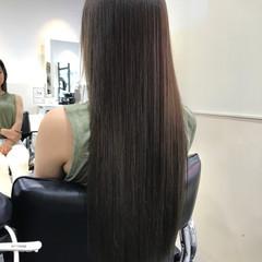 上品 透明感 ハイトーン ロング ヘアスタイルや髪型の写真・画像