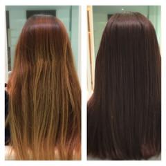 透明感 フレンチセピアアッシュ ナチュラル ロング ヘアスタイルや髪型の写真・画像