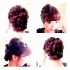 卵型 ナチュラル ヘアアレンジ モテ髪 ヘアスタイルや髪型の写真・画像