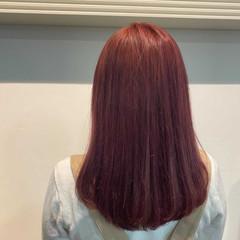 ラベンダーアッシュ ナチュラル 透明感カラー ラベージュ ヘアスタイルや髪型の写真・画像