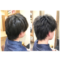 黒髪 ショート ストリート ボーイッシュ ヘアスタイルや髪型の写真・画像