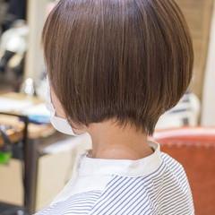 前下がりショート ショートヘア ショート 前下がりボブ ヘアスタイルや髪型の写真・画像