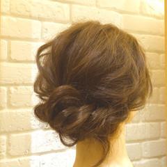 ショート ヘアアレンジ セミロング ゆるふわ ヘアスタイルや髪型の写真・画像