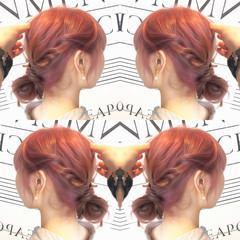 アッシュベージュ ストリート ピンク 透明感 ヘアスタイルや髪型の写真・画像