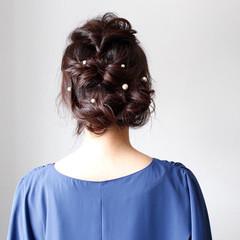 ロング 結婚式 成人式 ヘアアレンジ ヘアスタイルや髪型の写真・画像