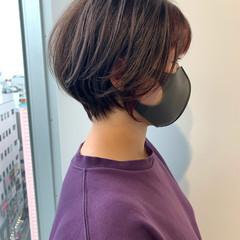 ショート ナチュラル ベリーショート ショートヘア ヘアスタイルや髪型の写真・画像