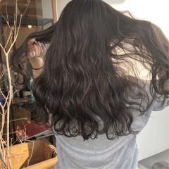 ハイライト ロング 外国人風 簡単ヘアアレンジ ヘアスタイルや髪型の写真・画像