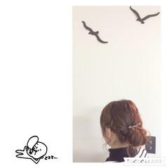 ショート バレッタ 編み込み 簡単ヘアアレンジ ヘアスタイルや髪型の写真・画像