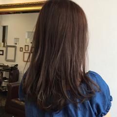 アッシュ 秋 暗髪 ナチュラル ヘアスタイルや髪型の写真・画像