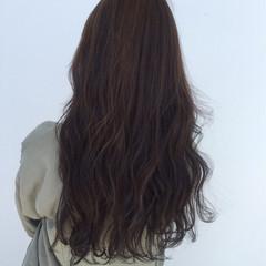 ストリート 暗髪 ロング ハイライト ヘアスタイルや髪型の写真・画像