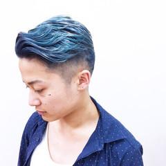 個性的 ハイトーン ストリート メンズ ヘアスタイルや髪型の写真・画像