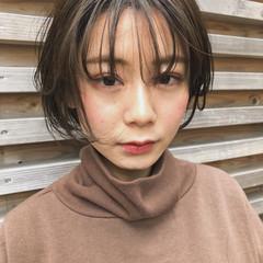 ショートボブ ミニボブ ハイライト ショート ヘアスタイルや髪型の写真・画像