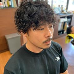 メンズ ストリート メンズパーマ メンズヘア ヘアスタイルや髪型の写真・画像
