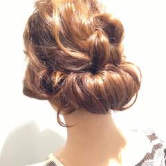 外国人風 外国人風カラー 編み込み ヘアアレンジ ヘアスタイルや髪型の写真・画像