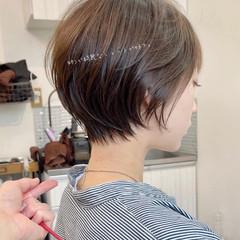 インナーカラー ナチュラル ウルフカット ベリーショート ヘアスタイルや髪型の写真・画像