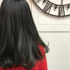 グラデーションカラー ダブルカラー ロング ワンカール ヘアスタイルや髪型の写真・画像