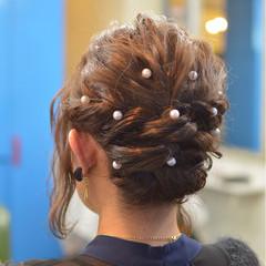 簡単ヘアアレンジ ナチュラル ショート ボブ ヘアスタイルや髪型の写真・画像