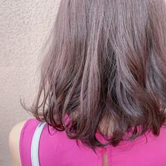 ショートボブ フェミニン ボブ ブリーチなし ヘアスタイルや髪型の写真・画像