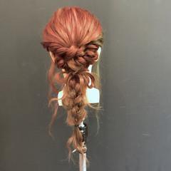 波ウェーブ 結婚式 ロング パーティ ヘアスタイルや髪型の写真・画像