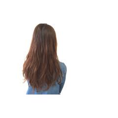 ロング ウェーブ 外国人風 ゆるふわ ヘアスタイルや髪型の写真・画像