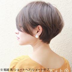 デート パーマ 大人ショート ヘアアレンジ ヘアスタイルや髪型の写真・画像