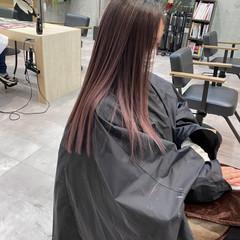 ハイトーンカラー ハイトーンボブ ロング ハイライト ヘアスタイルや髪型の写真・画像