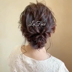 パーティ ヘアアレンジ フェミニン お呼ばれ ヘアスタイルや髪型の写真・画像