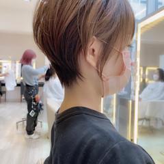 ショート ミニボブ ショートボブ エレガント ヘアスタイルや髪型の写真・画像