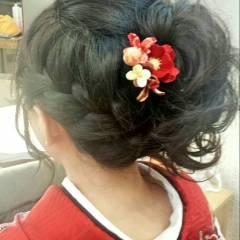 ヘアアレンジ 愛され モテ髪 春 ヘアスタイルや髪型の写真・画像