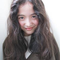 ナチュラル 簡単 ラフ 外国人風 ヘアスタイルや髪型の写真・画像