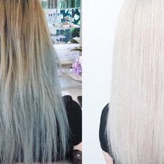 ブリーチカラー 派手髪 ストリート デザインカラー ヘアスタイルや髪型の写真・画像