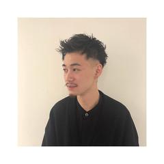 刈り上げ ツーブロック メンズショート スキンフェード ヘアスタイルや髪型の写真・画像