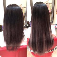 韓国ヘア 大人女子 エクステ ロング ヘアスタイルや髪型の写真・画像